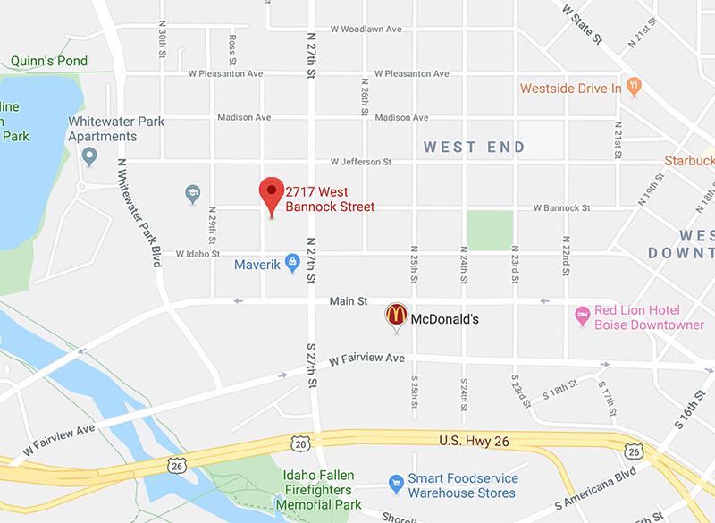 2717 W Bannock Street, Suite 200, Boise